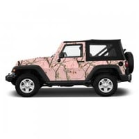 Realtree® Pink Camo Accent Vehicle Wrap - Free Shipping