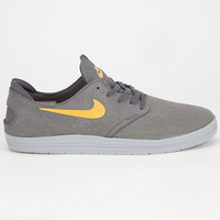 Nike Sb Lunar Oneshot Mens Shoes Grey  In Sizes