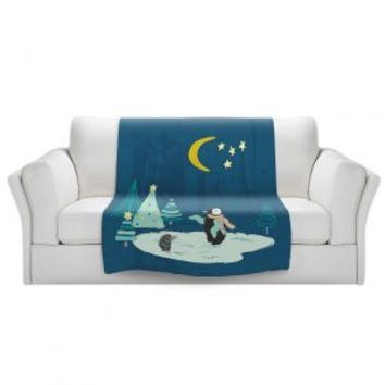 https://www.dianochedesigns.com/sherpa-pile-blankets-metka-hiti-christmas-penguin.html