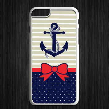 anchor and bow tie for iPhone 4/4s/5/5s/5c/6/6+, iPod, Samsung Galaxy S3/S4/S5/S6, HTC One, Nexus