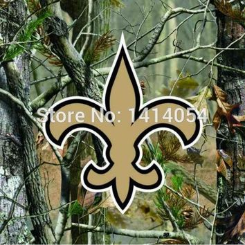 New Orleans Saints  real tree camo  Flag 150X90CM Banner 100D Polyester3x5 FT flag brass grommets 001, free shipping