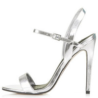 ROLO Skinny High Sandals - Silver