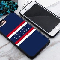 Top Tommy Hilfiger Stripe Best Case For iPhone 6 6s 6+ 6s+ 7 7+ 8 8+ X Cover