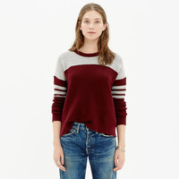 Colorblock Texturework Sweater