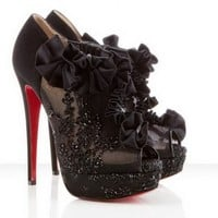 Christian Louboutin Evening Margot 150mm Black Shoes