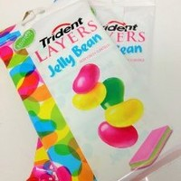 Trident Layers Jelly Bean Gum Limited Edition 14 pieces (6 pack)