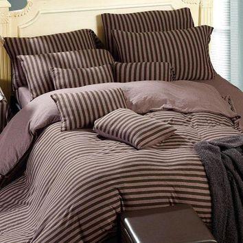 ac VLXC On Sale Bedroom Hot Deal Bedding Cotton Knit Bedding Set [45978976281]