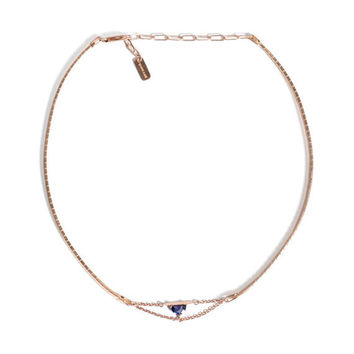 Bliss Lau Jewelry - Rose Gold Crescent Choker | BONA DRAG