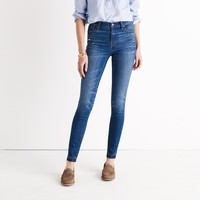 "9"" High-Rise Skinny Jeans in Hammond Wash: Drop-Hem Edition : 