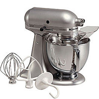 5-Quart Tilt-Head Stand Mixer - Sil