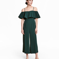 Jumpsuit with Flounce - from H&M
