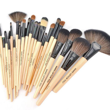 24 Pcs Makeup Brushes Professional Cosmetic Eye Tool