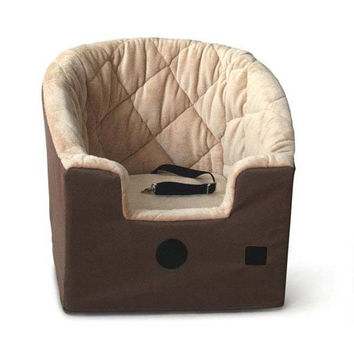 "K&H Pet Products Bucket Booster Pet Seat Small Tan 20"" x 15"" x 20"""