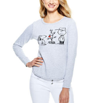 Charlie Brown Christmas Sweatshirt - Heather Grey