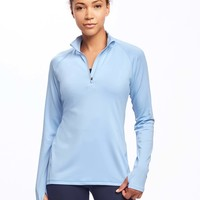 Go-Dry Performance 1/4 Zip Pullover for Women | Old Navy