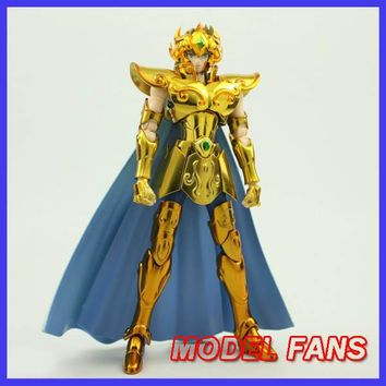 MODEL FANS IN-STOCK Metal club MC metalclub EX leo Aioria Model Saint Seiya metal armor Cloth Myth Gold action Figure