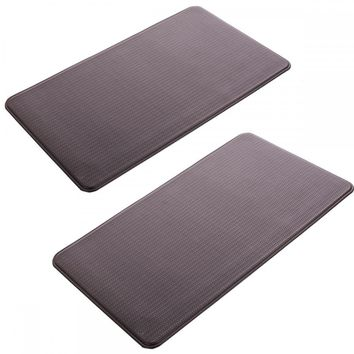 "2 PCS Kitchen Mat Standing Desk Mat Rug Anti-Fatigue Floor Mat 20"" x 36"" P2036"
