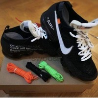 DCCKIN2 Nike Air Vapormax x OFF-WHITE Size 10 100% Authentic with receipt