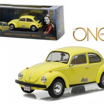 """Emma's Volkswagen Beetle """"Once Upon A Time"""" (2011-Current) TV Series 1-43 Diecast Model Car by Greenlight"""
