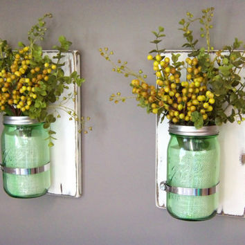 Shop Mason Jar Sconce On Wanelo
