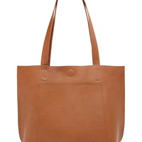 Faux Leather Tote | Forever 21 - 1000176272