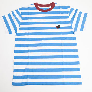 FLOGGNAW STRIPED TEE WHITE – golfwang