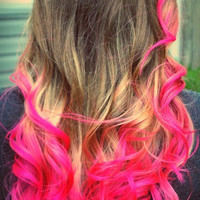 Hot Pink Premium Salon Grade Colored Hair Chalk - Temporary Color Pastels