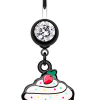 Betty Cupcake Belly Button Ring
