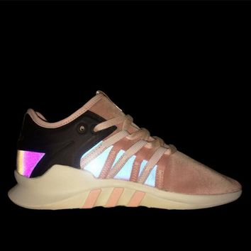 Overkill x Fruition x Adidas EQT Popular Women Men Casual Pink Sports Running Shoes Sneakers I