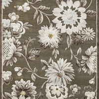 "Halton Light Brown / Beige 3'10"" X 5'7"" Rug"