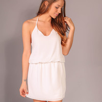 Simple Stunner Dress - Ivory