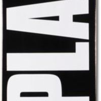 "Plan B Team OG 7.75"" Black Skateboard Deck"