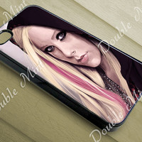 Avril Lavigne For iPhone 4/4s, iPhone 5/5s/5c, and Samsung Galaxy S3/S4/S5 Case, DOUBLEMINT