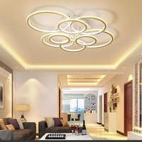 NEO Gleam Circel Rings Living Room Bedroom Study Room Led Ceiling Lights Modern Led High Brightness Aluminum Ceiling Lamp