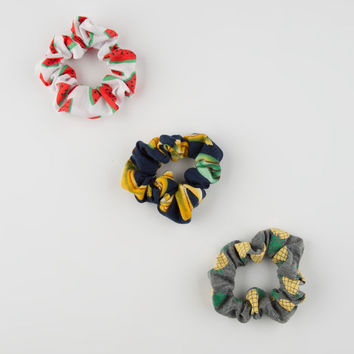 FULL TILT 3 Pack Fruit Scrunchies