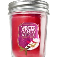 Mason Jar Candle Winter Candy Apple