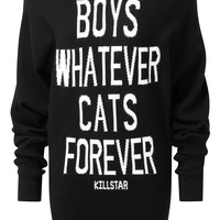 Boys/Cats Knit Dress [B]