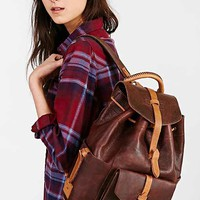 Will Leather Goods Rainier Backpack- Brown One