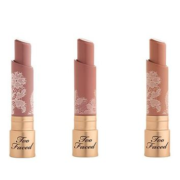 Too Faced Natural Nudes Coconut Butter Lipstick Trio - 8766427 | HSN