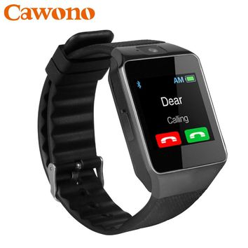 Cawono Bluetooth Smart Watch DZ09 Relojes Smartwatch Relogios TF SIM Camera  For IOS  jf 70a1e78b7