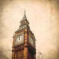 London England  Big Ben Wrong Time  Fine Art Travel by DDubPhotog