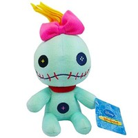 "Disney Plush 6"" Stuffed Lilo & Stitch Scrump Plush"