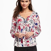 Lightweight Swing Blouse for Women | Old Navy