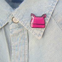 Pussyhat Lapel Pin, Pussy Pin, Nasty Woman Pin, Women's March, Women's Rights, Feminist Pin, Pink Pussy Pin, Rise Up, Pussycat, Anti Trump