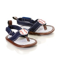 Baseball Front Sandals 3 12m 384241940 | Accessories | Girls | Clearance | Burlington Coat Factory
