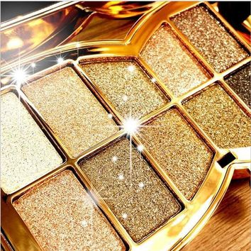 10 Color Makeup Diamond Bright Palette Eye Shadow [8295206855]