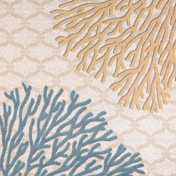 United Weaver Modern Textures Coral Reef Area Rug
