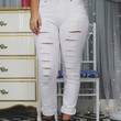 On Point Denim - White