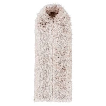 Snow Cat Faux-Fur Sleeping Bag