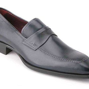 NEW Mezlan Men's Toulon Calf Slip-On, Black Shoes